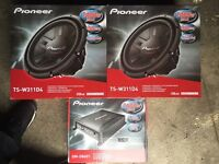 Pioneer Champion Series TS-W311D4 Subs/Subwoofer/Subwoofers