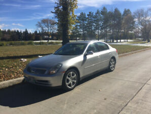 2004 Infiniti G35x, Excell Cond, Safetied,