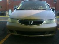 2004 Honda Odyssey tissus Camionnette