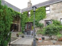 Beautiful 4 bedroom historical home to rent in Ellon on the Ythan river