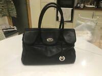 Large Black Leather Handbag. Lloyd Baker. New condition.