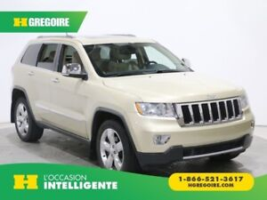 2011 Jeep Grand Cherokee LIMITED 4X4 A/C TOIT CUIR NAV MAGS