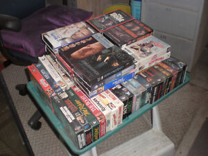 50 vhs movies... in perfict condition .. Kitchener / Waterloo Kitchener Area image 1