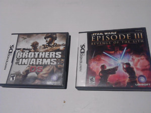 $10 for both Nintendo DS games STAR WARS - BROTHERS IN ARMS