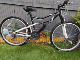 Adult ladies full suspension mountain bike great condition