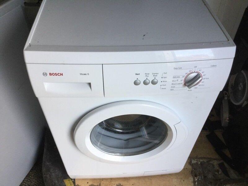 Bosch max 6 kg washing machine in mint condition