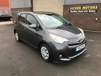 2012 TOYOTA VERSO-S TR 1.3 PETROL MANUAL ONLY 80000 MILES WITH SERVIVE HISTORY