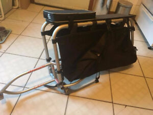 Xtracycle FreeRadical X1 + X1 Bags (cargo bike attachment)