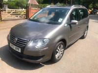 Volkswagen Touran 1.9TDI SE.105 bhp. 9 STAMPS IN SERVICE BOOK. CAMBELT AT 117 K.