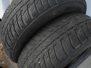 """P225/70R16 """"All-weather"""" (winters you can use year-round) pair!"""