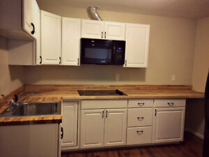 Solid Butcher Block Countertops