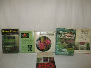 Vintage Gardening and House Plant Books
