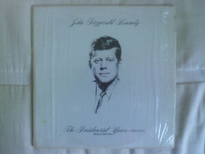 John Fitzgerald Kennedy The Presidential Years Vinyl Record North Shore Greater Vancouver Area image 1