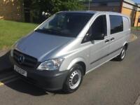 2012 Mercedes-Benz Vito 2.1 CDI Dualliner Combi Crew Van Manual Combi Van