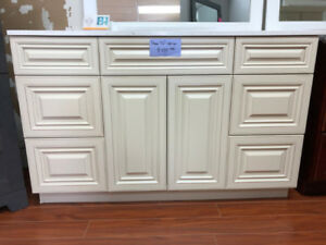 CLEARANCE over 50+ demo vanity cabinets now!!!