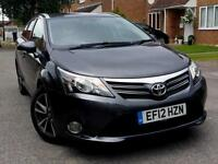 2012 oyota Avensis 2.0 D-4D TR 5dr FULL TOYOTA SERVCE HISTORY+NAVIGATION+1 OWNER