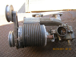 Rare JUDSON SUPERCHARGER for Autin Healey SPRITE new old stock