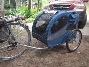 Solvit Cargo/dog Steel frame Trailer for Bikes,  $220