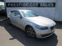 2012 BMW 5 Series 2.0 520d BluePerformance SE Touring 5dr Diesel silver Automati