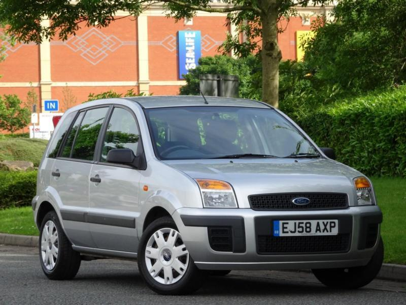 Ford Fusion 1.4 2008 Style Climate..PARKING SENSORS + FULL FORD HISTORY