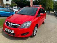 2012 Vauxhall Zafira 1.8 i VVT 16v Design 5dr MPV Petrol Manual