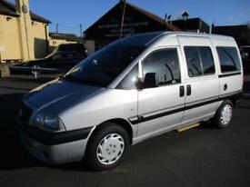 2006 Fiat Scudo JTD SX W/V Wheelchair Accessible Vehicle MPV WAV