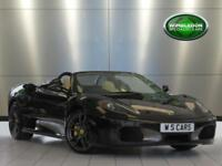 2007 FERRARI F430 SPIDER / CARBON FIBRE MANIFOLDS AND ENGINE BAY / NAVIGATION /