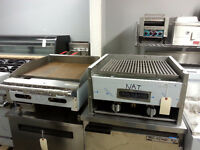 FRYERS-STOVE-FLAT-TOPS-CHAR-BROILER-CONVECTION OVENS-COOK TOPS