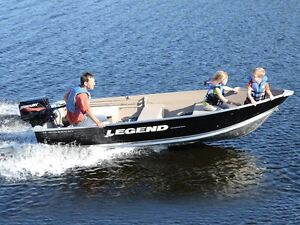 2016 Legend Boats WideBody 14 WideBody Bench