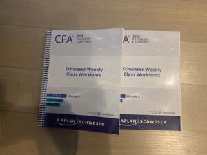 2019 CFA Schweser Weekly Class Workbook