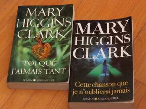 DUO  7$    MARY HIGGINS CLARK**#  LITTÉRATURE  AUTEUR