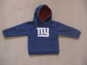 New York Giants Toddler Hooded Sweater