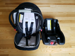 Coquille graco click connect et adapteur baby jogger