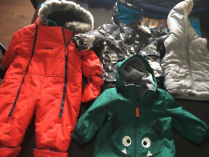 Snowsuit and Jackets
