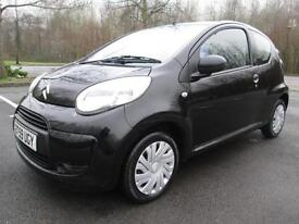 CITROEN C1 VT 1.0 3DR HATCH IN BLACK WITH ONLY 50,000 MILES