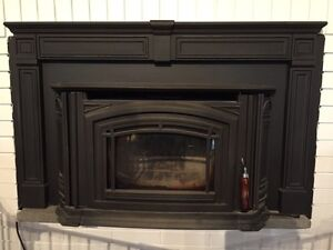 Wood fireplace insert - enviro wood boston 1700