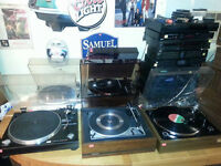 8 Dual turntables, Lenco & Lots More Sat. Feb 13th 9am til 3pm