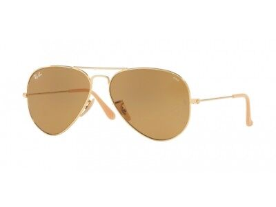 Sonnenbrille ray Ban Sonnenbrille RB3025 Aviator große Metall cod. Farbe 90644