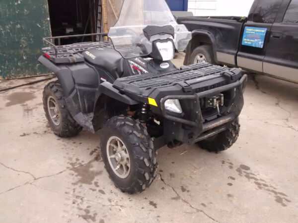 Used 2008 Polaris sportsman 500 ho efi stealth black edition