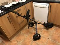 Dunlop 3 wheel Golf Trolley