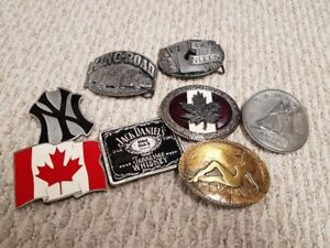 Misc. Belt Buckles for Sale