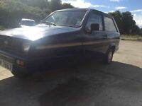 Reliant Rialto 1982 new mot perfect working order very rare known robin reliant 1295