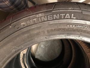 Tire - Continental 4x4 Contact 265/45r20