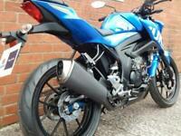SUZUKI GSX-S125 MOTO GP MOTORCYCLE