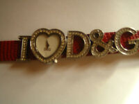 I Heart D & G Watch (REDUCED!!)