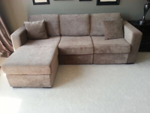 Sectional Pullout Sleeper Sofa