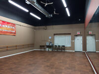 Dance Studio for rent week day and weekend