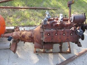 1951 Mercury Monarch Ford Flathead Engine, Complete OD Driveline