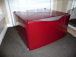 Pedestal for Red Maytag Washing Machine