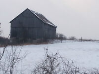 WANTED BARNS*DRIVE SHEDS*LOG STRUCTURES